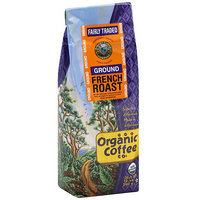 The Organic Coffee Co. Ground French Roast Coffee, 12 oz (Pack of 6)