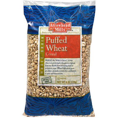 Arrowhead Mills Puffed Wheat Cereal, 6 oz (Pack of 12)