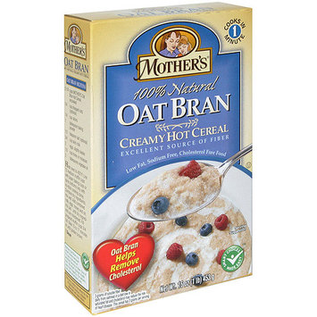 Mothers Mother's Oat Bran Hot Cereal, 16 oz (Pack of 6)