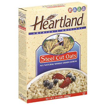 Heartland Steel Cut Oats Cereal, 24 oz (Pack of 6)