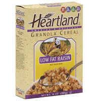 Heartland Granola Cereal Low Fat Raisin Cereal, 14 oz (Pack of 6)
