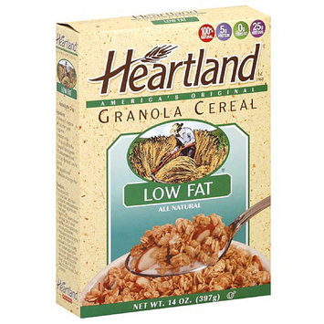 Heartland Granola Low Fat Cereal, 14 oz (Pack of 6)