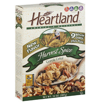 Heartland Harvest Spice Granola Cereal, 14 oz (Pack of 6)