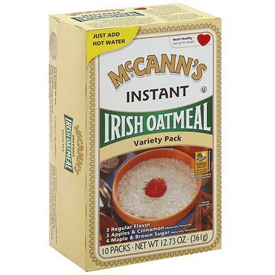 McCann's Instant Irish Oatmeal Variety Pack, 12.7 oz (Pack of 12)
