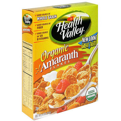 Health Valley Amaranth Flakes Cereal, 12.65 oz (Pack of 6)