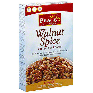 Peace Cereal Cereal, Walnut Spice, 11 oz. (Pack of 6)