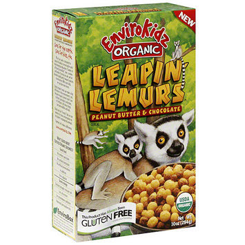 Envirokidz Organic Peanut Butter And Chocolate Cereal, 10 oz (Pack of 6)