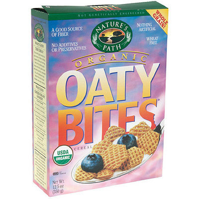 Nature's Path Oaty Bites Cereal, 12.5 oz (Pack of 6)