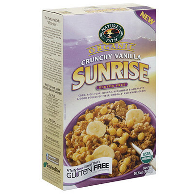 Nature's Path Organic Crunchy Vanilla Cereal, 10.6 oz (Pack of 6)