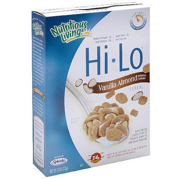 Nutorious Living Nutritious Living Hi Lo Vanilla Almond Cereal, 10 oz (Pack of 6)