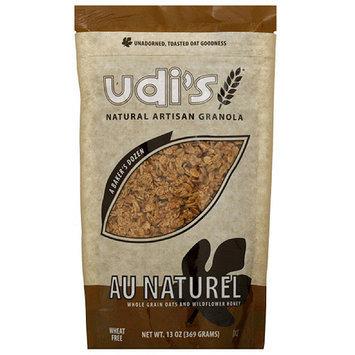 Udis Udi's Au Naturel Granola, 13 oz (Pack of 6)
