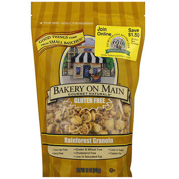 Bakery On Main Gourmet Naturals Rainforest Granola, 12 oz (Pack of 6)