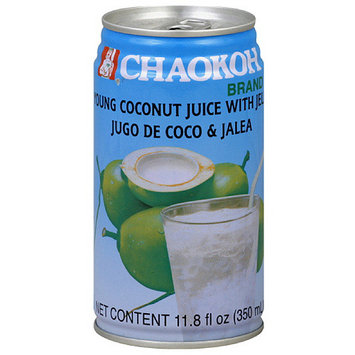 Foco Coconut Juice With Jelly, 11.8 oz (Pack of 24)