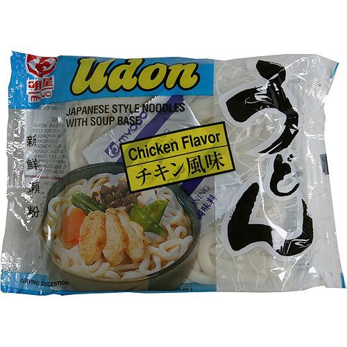 Myojo Udon Japanese Style Noodles Soup, Chicken Flavor, 7.25 oz (Pack of 30)