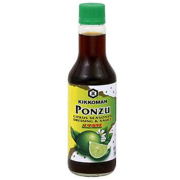 Kikkoman Citrus Seasoned Ponzu Lime Dressing & Sauce, 10 oz (Pack of 6)