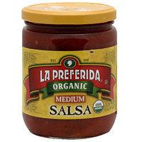 La Preferida Medium Organic Salsa, 16 oz (Pack of 12)