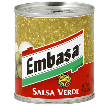 Embasa Medium Salsa Verde, 7 oz (Pack of 12)