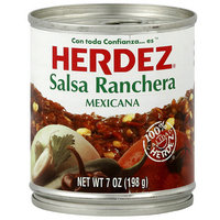 Herdez Ranchera Salsa, 7 oz (Pack of 12)