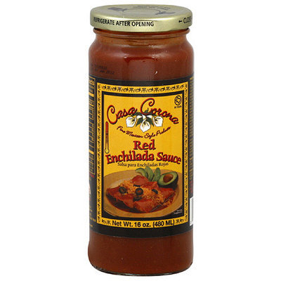 Casa Corona Red Medium Enchilada Sauce, 16 oz (Pack of 12)