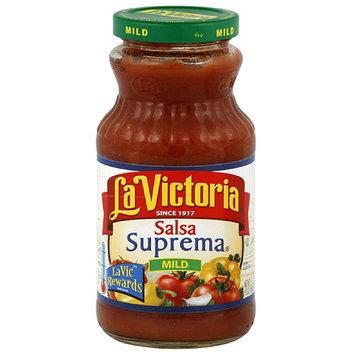 La Victoria Suprema Mild Salsa, 16 oz (Pack of 12)