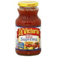 La Victoria Suprema Medium Salsa, 16 oz (Pack of 12)