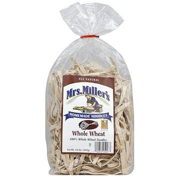 Mrs Millers Mrs. Miller's Whole Wheat Noodles, 14 oz (Pack of 6)