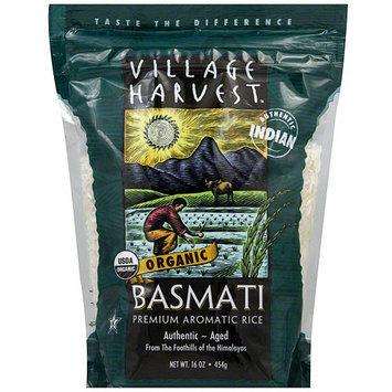 Village Harvest Organic Basmati Rice, 16 oz (Pack of 6)