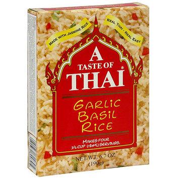 A Taste Of Thai Garlic Basil Coconut Rice, 6.7 oz (Pack of 6)
