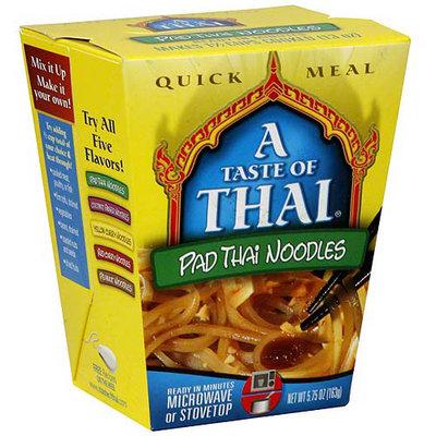 A Taste of Thai Pad Thai Noodles