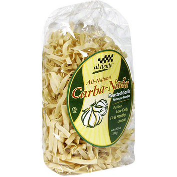 Al Dente Roasted Garlic Fettuccine Noodles, 10 oz (Pack of 6)