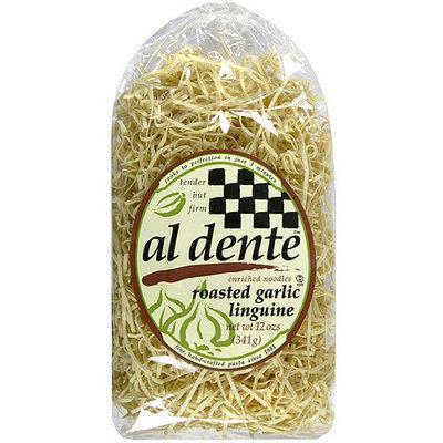 Al Dente Roasted Garlic Linguine, 12 oz (Pack of 6)