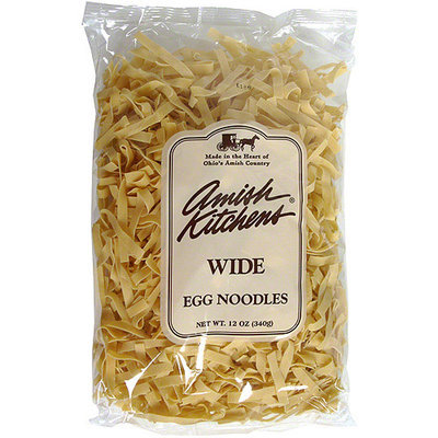 Amish Kitchens Wide Egg Noodles, 12 oz (Pack of 12)