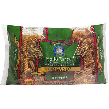 Bella Terra Organic Rotini Pasta, 12 oz (Pack of 12)