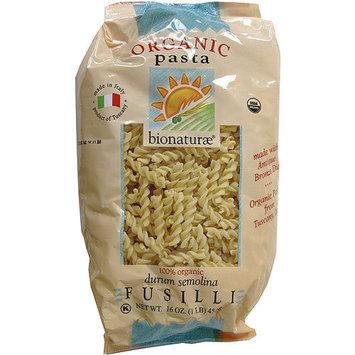 Bionaturae Organic Fusilli Pasta Noodles, 16 oz (Pack of 12)