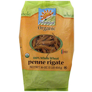 Bionaturae Organic Whole Wheat Penne Rigate, 16 oz (Pack of 12)