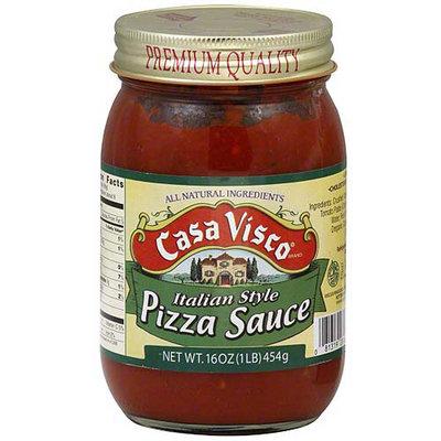 Casa Visco Italian Style Pizza Sauce, 16 oz (Pack of 6)