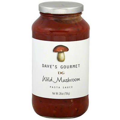 Daves Gourmet Dave's Gourmet Wild Mushroom Pasta Sauce, 25.5 oz (Pack of 6)