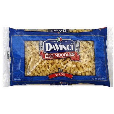 DaVinci Wide Egg Noodles, 12 oz (Pack of 12)