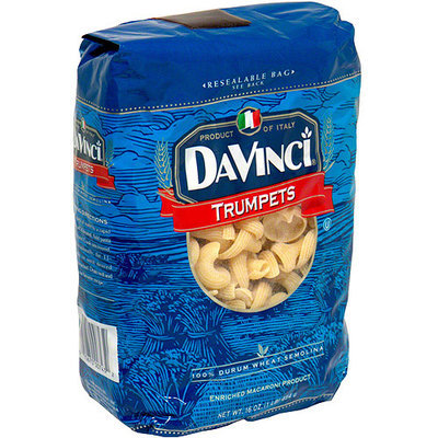 Davinci Trumpets Macaroni Product, 16 oz (Pack of 12)