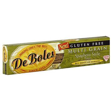 DeBoles Multi Grain Spaghetti Style Pasta, 8 oz (Pack of 12)