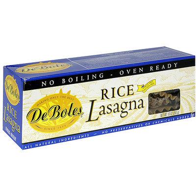 DeBoles Rice Lasagna, 10 oz (Pack of 12)