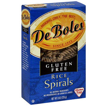 Deboles Rice Spirals, 8 oz (Pack of 12)
