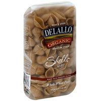 Delallo Shells Pasta, 16 oz (Pack of 16)