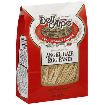 Dell Alpe Dell' Alpe Angel Hair Egg Pasta, 8 oz (Pack of 6)