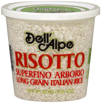Dell Alpe Dell' Alpe Superfino Arborio Risotto, 20 oz (Pack of 6)