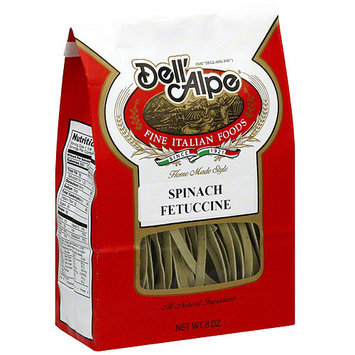 Dell Alpe Dell'Alpe Spinach Fettucine, 8 oz (Pack of 6)