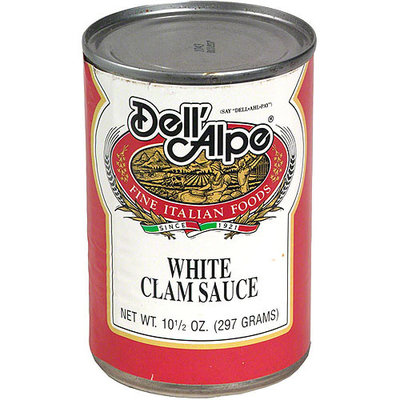 Dell Alpe Dell'Alpe White Clam Sauce, 10.5 oz (Pack of 12)