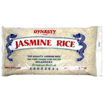 Dynasty Jasmine Long Grain Rice, 5 lb (Pack of 6)