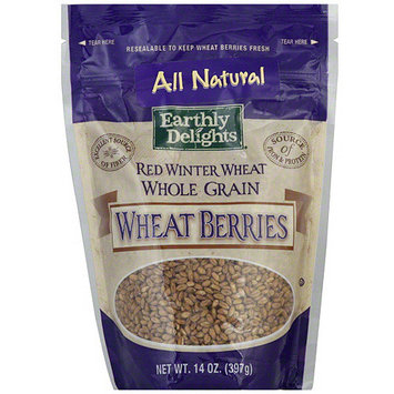 Tures Earthly Choice Nature's Earthly Choice Red Winter Wheat Berries, 14 oz (Pack of 6)