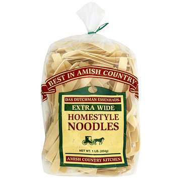 Das Dutchman Essenhaus Extra Wide Homestyle Noodles, 1 lb (Pack of 6)
